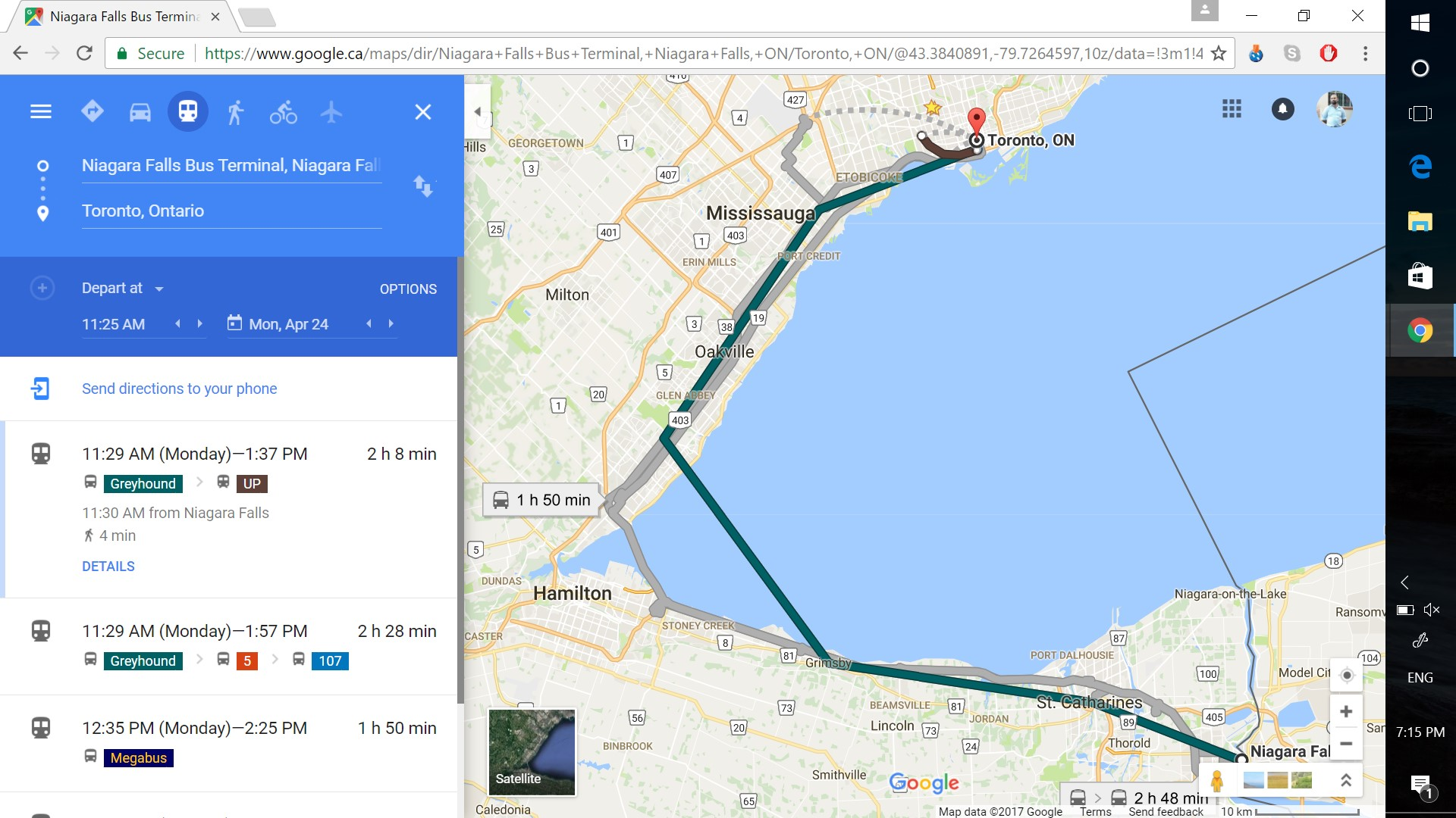 Why no Greyhound on Google Transit? – Dude, where\'s my bus map?